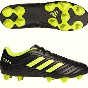 Adidas Copa Black Yellow Soccer Cleats Shoes 11.5